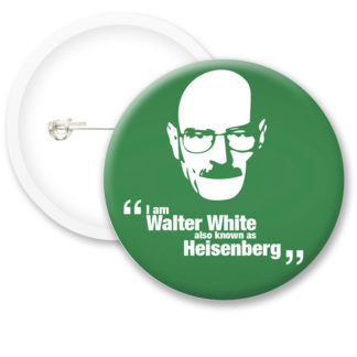 Breaking Bad Walter White Button Badges