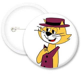 Top Cat Button Badges
