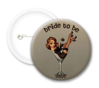 Bride To Be Hen Do Button Badges