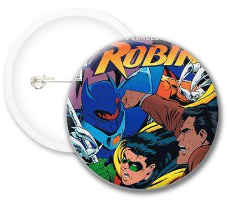 Robin Comic Comics Button Badges