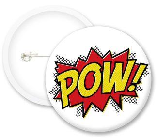 Pow Button Badges