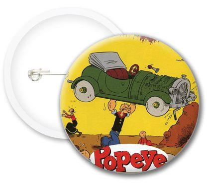 Popeye Comics Button Badges