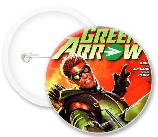 Greenarrow Comics Button Badges