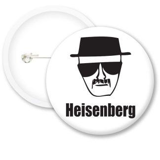 Breaking Bad Heisenberg Button Badges
