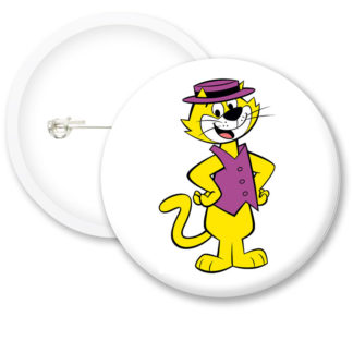Top Cat Style1 Button Badges