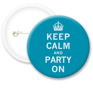 Keep Calm and Part On Button Badges