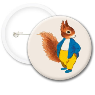Tufty Club Retro Style1 Button Badges
