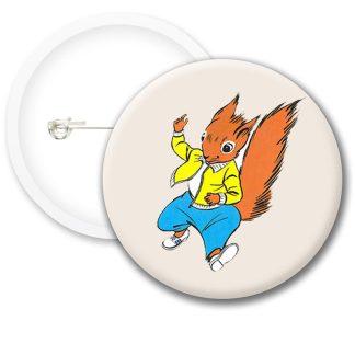 Tufty Club Retro Style3 Button Badges