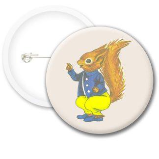Tufty Club Retro Style4 Button Badges
