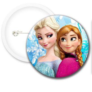 Frozen Movie Style2 Button Badges