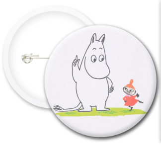 Moomin Style4 Button Badges