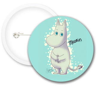 Moomin Style5 Button Badges