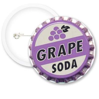 Grape Soda Button Badges