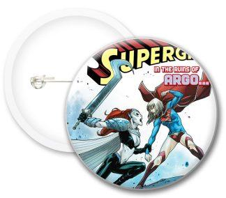 Supergirl New Comics Button Badges