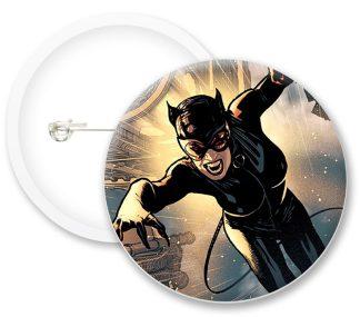 Catwoman Comics Button Badges