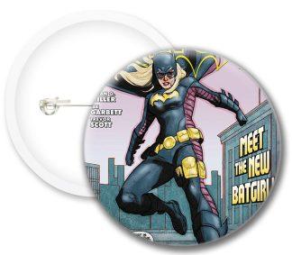 Batgirl Comics Button Badges