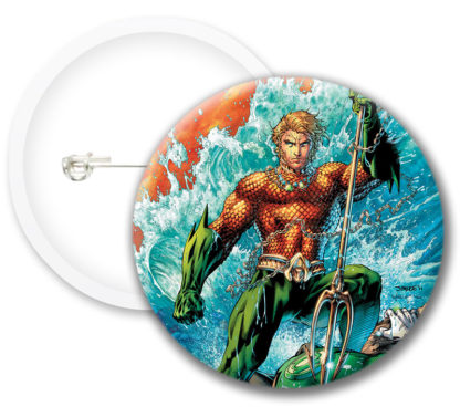 Aquaman Comics Button Badges