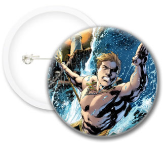 Aquaman Style1 Comics Button Badges