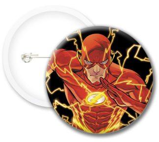 Flash Comics Button Badges
