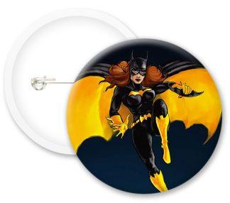 Batgirl Style1 Comics Button Badges