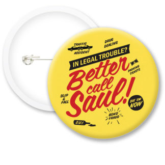 Breaking Bad Better Call Saul Button Badges