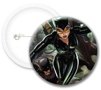 Catwoman Style1 Comics Button Badges