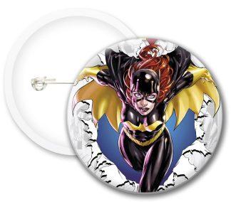 Batgirl Style2 Comics Button Badges