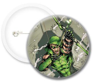 Greenarrow Style3 Comics Button Badges