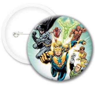 Batman Style2 Comics Button Badges