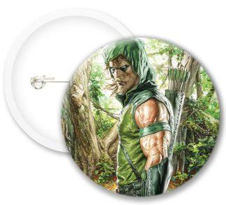 Greenarrow Style6 Comics Button Badges