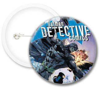 Detective Batman Comics Button Badges