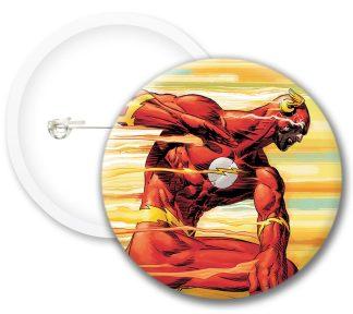 Flash Style2 Comics Button Badges