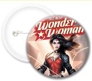 Wonder Woman Style1 Comics Button Badges