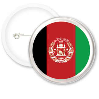 Afghanistan Worlds Flags Button Badges