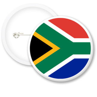 Africa Worlds Flags Button Badges