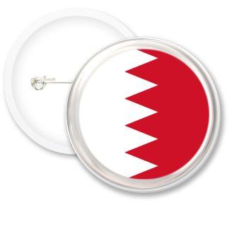 Bahrain Worlds Flags Button Badges