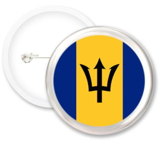 Barbados Worlds Flags Button Badges