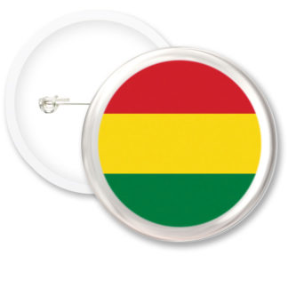 Bolivia Worlds Flags Button Badges