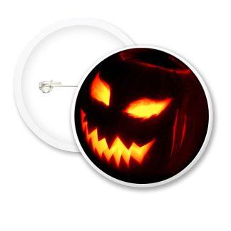 Halloween Scarry Pumpkin Button Badges