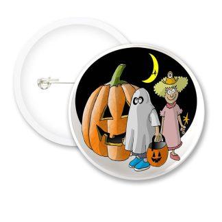 Halloween Fancy Dress Button Badges