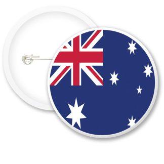 New Zealand Worlds Flags Button Badges