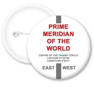 Prime Meridian Button Badges