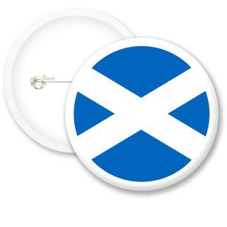 Scotland Worlds Flags Button Badges