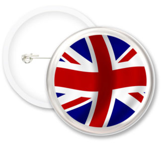 United Kingdom Worlds Flags Button Badges