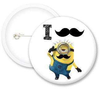 Despicable Me Minions Button Badge Style 10
