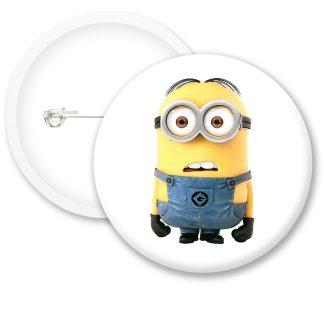 Despicable Me Minions Button Badge Style 11