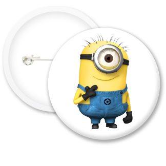 Despicable Me Minions Button Badge Style 12