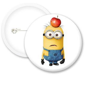 Despicable Me Minions Button Badge Style 13