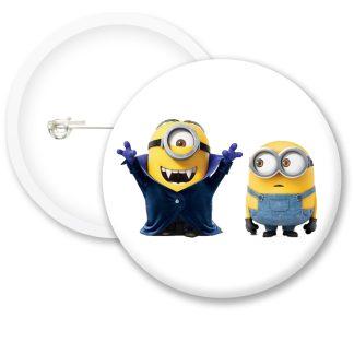 Despicable Me Minions Button Badge Style 14
