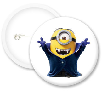 Despicable Me Minions Button Badge Style 15